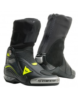 Dainese Axial D1 Μπότες Black/Yellow-Fluo