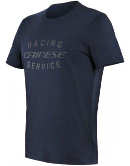 Dainese Paddock T-Shirt Black-Iris/Black-Iris