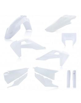 Acerbis Κιτ Πλαστικά Full Husqvarna TE/FE 250 20-21 White 2