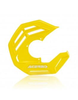 Acerbis Κάλυμμα Εμπρός Δίσκου X-Future Yellow