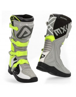 Acerbis Μπότες X-Team Gray/Yellow