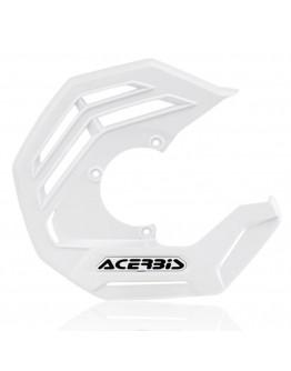 Acerbis Κάλυμμα Εμπρός Δίσκου X-Future White