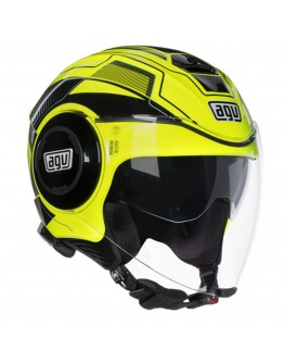 AGV Fluid Soho Yellow-Fluo/Black