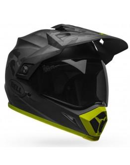 Bell MX-9 Adventure Mips Stealth Black/Camo/Hi-Viz Matt