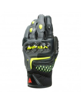 Dainese VR46 Sector Short Γάντια Black/Anthracite/Fluo-Yellow