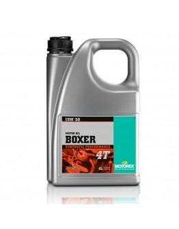 Motorex Λάδι 4T Boxer 15W/50 100% Συνθετικό 4ltr