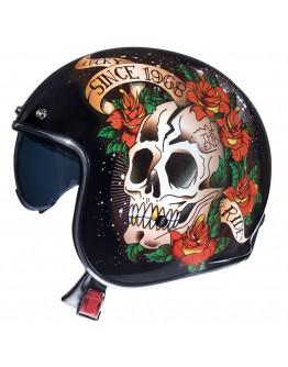 MT Le Mans 2 SV Skull & Roses Red