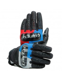 Dainese D-Explorer 2 Γάντια Glacier-Gray/Blue/Lava-Red/Black