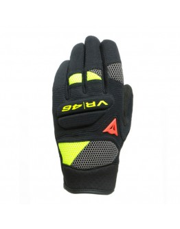 Dainese VR46 Curb Γάντια Black/Anthracite/Fluo-Yellow