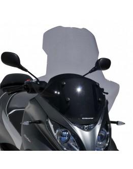 Ermax Ζελατίνα Piaggio MP3 500 HPE Sport Business 18-21 High Light Smoke