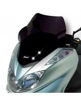 Ermax Ζελατίνα Yamaha Majesty 400 04-08 Sport Dark Smoke