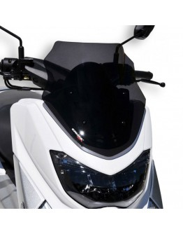 Ermax Ζελατίνα Yamaha N-Max 125-155 15-20 Sport Dark Smoke
