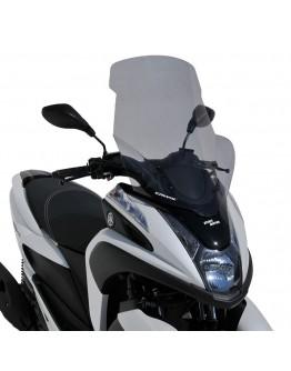 Ermax Ζελατίνα Yamaha Tricity 125 14-20 High Dark Smoke