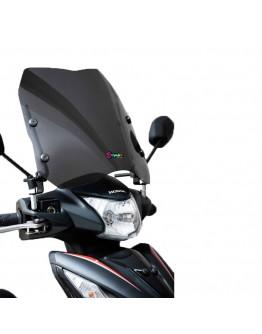 Ermax Ζελατίνα Universal Scooter/Παπί Sport Dark Smoke