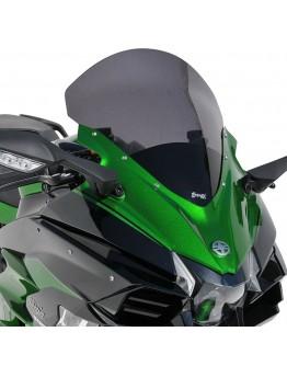 Ermax Ζελατίνα Kawasaki H2 Ninja SX SE 18-21 High Dark Smoke