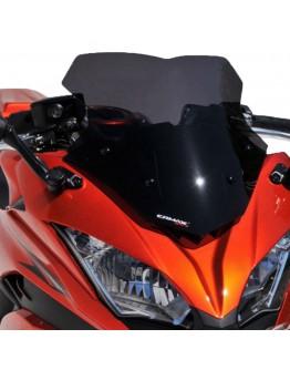 Ermax Ζελατίνα Kawasaki Ninja 650 17-19 Sport Dark Smoke