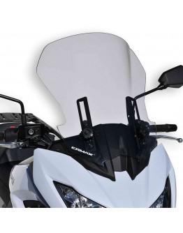 Ermax Ζελατίνα Kawasaki Versys 1000 19-20 Touring Light Smoke