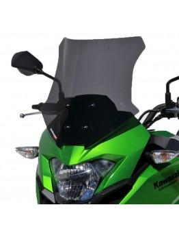 Ermax Ζελατίνα Kawasaki Versys-X 300 17-20 Sport Dark Smoke