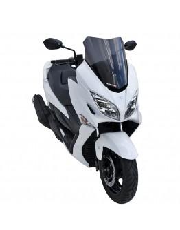 Ermax Ζελατίνα Suzuki Burgman 400 17-21 Sport Dark Smoke