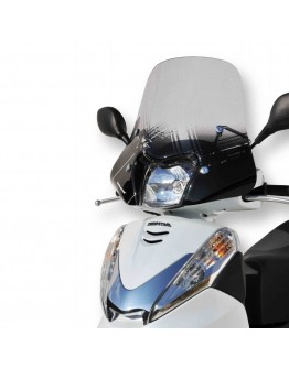 Ermax Ζελατίνα Honda SH 30 07-18 Sportivo Mini Dark Smoke