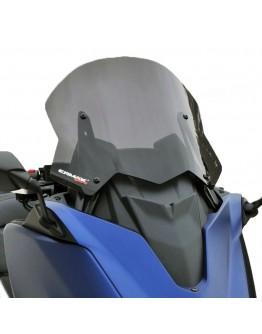 Ermax Ζελατίνα Yamaha T-Max 530 DX SX 17-19 Sport Dark Smoke