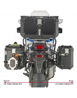 Givi Βάσεις Πλαϊνών Honda CRF1100L Africa Twin Adventure Sport 19-21 PLO1178CAM