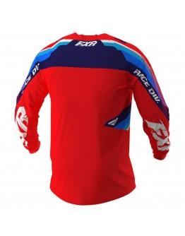FXR MX Μπλούζα Clutch 21 Red