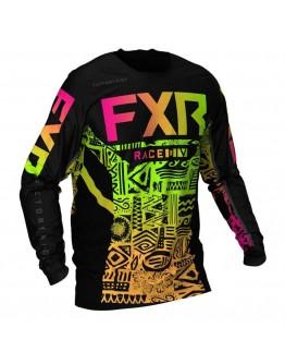 FXR MX Μπλούζα Podium 21 Sherbert Aztec