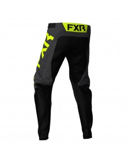 FXR MX Παντελόνι Podium Off-Road 21 Black/Charcoal/Hi-Vis