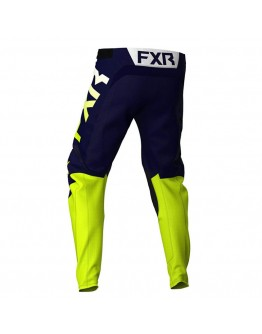 FXR MX Παντελόνι Podium Off-Road 21 Navy/Hi-Vis/White
