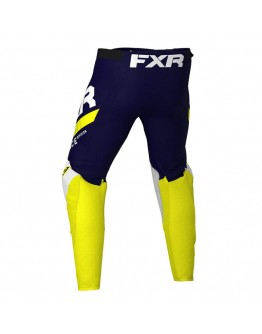 FXR MX Παντελόνι Revo 21 Midnight/White/Yellow