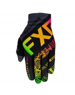 FXR MX Slip On Lite 21 Γάντια Sherbert Aztec