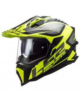 LS2 MX701 HPFC Explorer Alter Matt Black/H-V Yellow