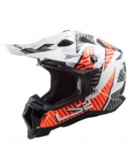 LS2 MX700 Subverter Evo Astro White/Orange