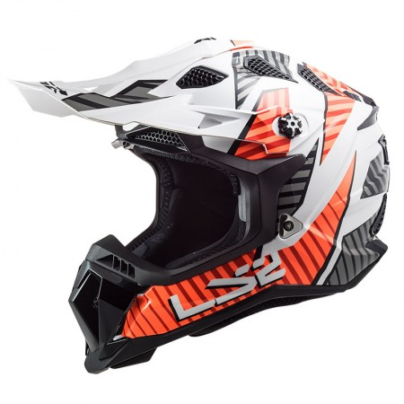 LS2 MX700 Subverter Evo Astro White/Orange