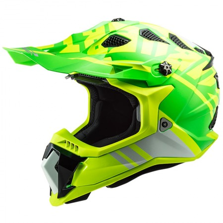 LS2 MX700 Subverter Evo Gammax H-V Yellow Green