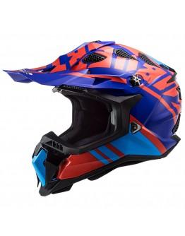 LS2 MX700 Subverter Evo Gammax Red/Blue