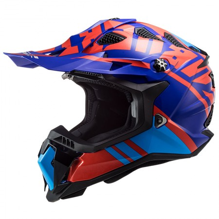LS2 MX700 Subverter Evo Gammax Red/Blue