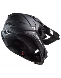 LS2 MX700 Subverter Evo Noir Matt Black