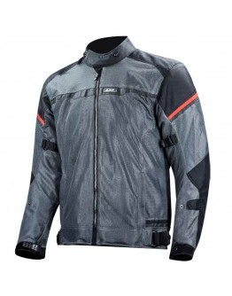 LS2 Riva Jacket Black/Grey/Red