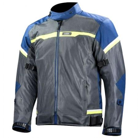 LS2 Riva Jacket Blue/Dark Grey/H-V Yellow