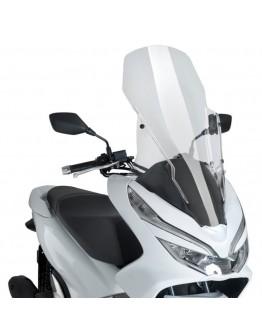 Puig Ζελατίνα V-Tech Touring Honda PCX 125 18-20 Clear
