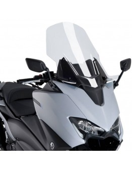 Puig Ζελατίνα V-Tech Touring Yamaha T-Max 530 17-19 Clear