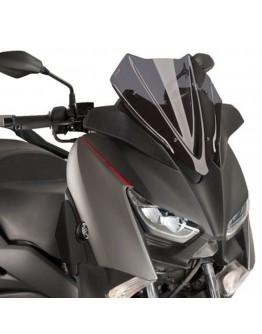 Puig Ζελατίνα V-Tech Sport Yamaha X-Max 125/300/400 17-20 Dark Smoke