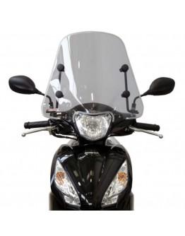 Fabbri Ζελατίνα Honda Vision 110 17-21 Summer Light Smoke