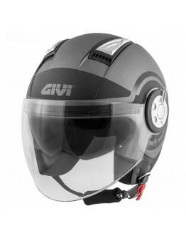 Givi 11.1 Air Jet-R Mat Titanio/Black/Fluo