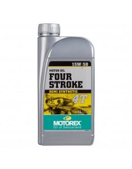 Motorex Λάδι 4T 4-Stroke 15W/50 Ημισυνθετικό 1 Lt