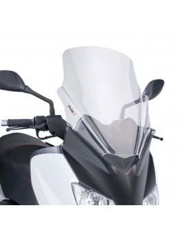 Puig Ζελατίνα Yamaha X-Max 125-250 10-13 V-Tech Touring Clear