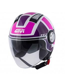 Givi 11.1 Air Jet-R Class Lady White/Pink/Purple