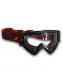 Ariete Μάσκα MX Mudmax Easy Black/Red